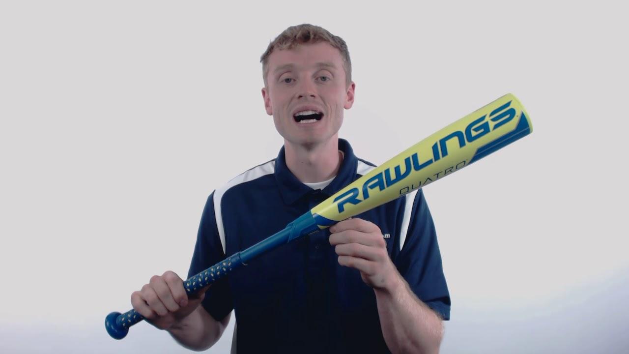 2018 rawlings quatro 10 usa baseball bat us8q10 youtube