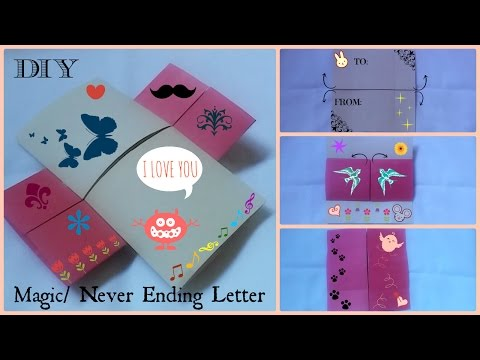 DIY: Magic/Never Ending Letter | Valentine's Day | Gift Ideas
