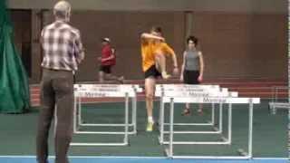 Drills & techniques for successful steeplechase - Entraînement athlétisme course haies Montréal
