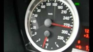 BMW M3 E92 0-300 km/h with 420 HP