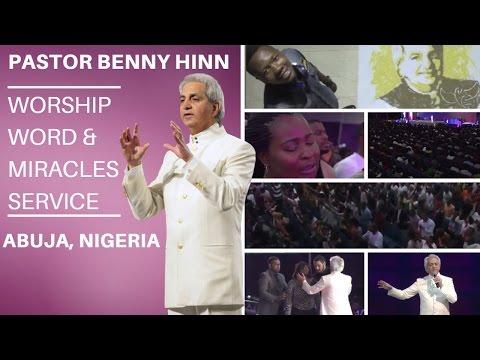 Benny Hinn LIVE in Abuja, Nigeria