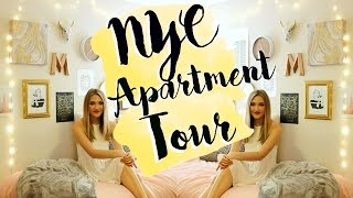 NYC Apartment Tour! College Dorm Room Tour 2016!