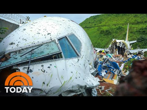 Plane Skids Off Runway In India, Killing At Least 18   TODAY