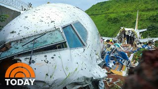 Plane Skids Off Runway In India, Killing At Least 18 | TODAY