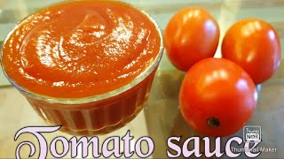Easy Homemade Tomato Sauce  || Tomato Ketchup Malayalam Recipe By FoodOutlet