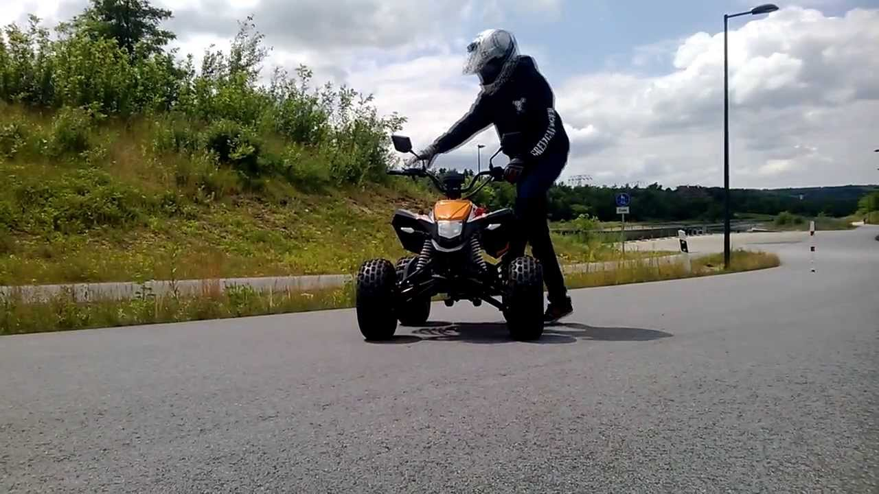 first wheelie training on maddex 50 quad milky chance youtube. Black Bedroom Furniture Sets. Home Design Ideas