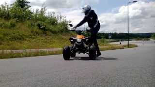 First Wheelie Training On Maddex 50 Quad / Milky Chance