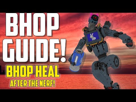 How To BHOP Heal After The Latest Patch In Apex Legends! How To Bunny Hop Faster Than Sprinting!