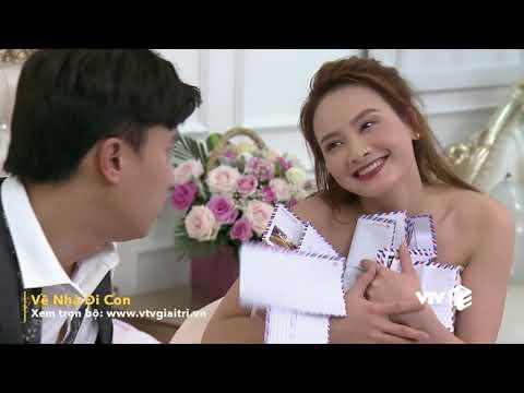 VTV Giải Trí | Đêm tân hôn của Thư và Vũ | Phim Về Nhà Đi Con