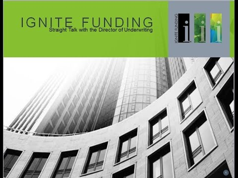 Underwriting - Straight Talk with Ignite Funding
