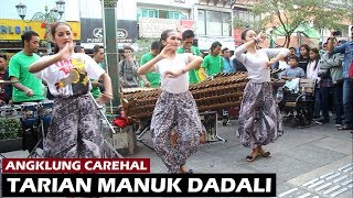 Tari Manuk Dadali Versi Angklung // Cover Angklung Carehal ~ Angklung Malioboro Yogyakarta