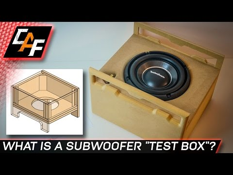 Build a Subwoofer Test Box - BETTER BASS - CarAudioFabrication