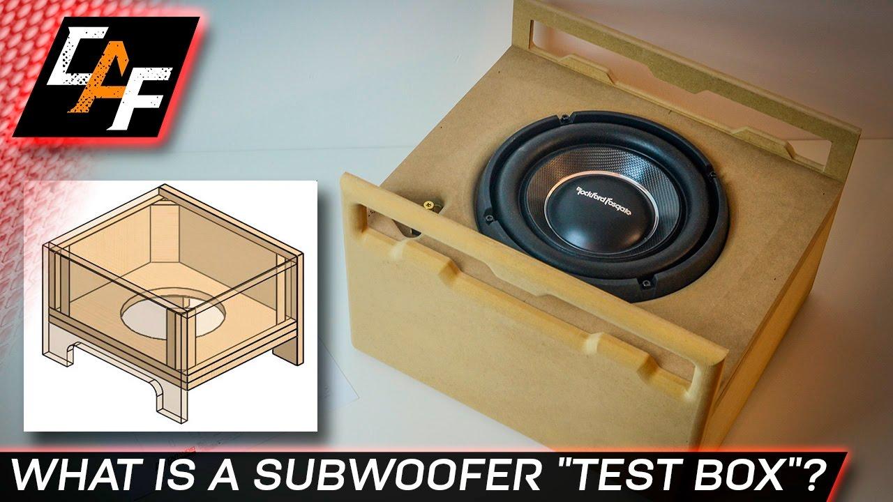 Build A Subwoofer Test Box
