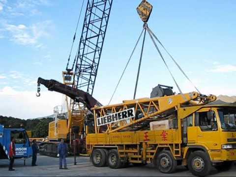 hong Liebherr kong crane