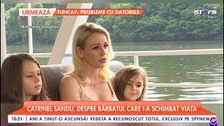 """Catrinel Sandu, despre viitor și familie: """"Vreau să le ofer fiicelor mele o familie"""""""