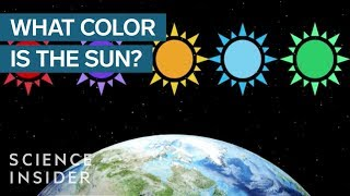 Why The Sun Isn't Actually Yellow