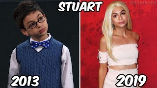 Disney Channel Famous Girls Stars Before and After 2019