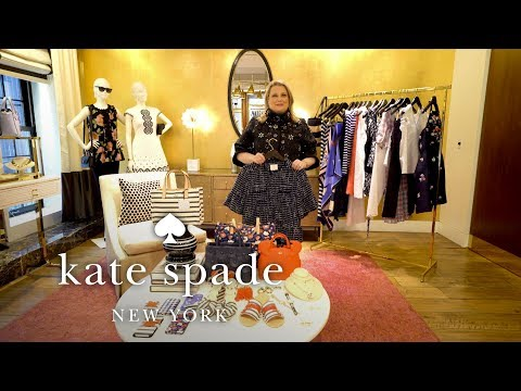 Ready-to-wear Overview | April New Arrivals | Talking Shop With Tiffany | Kate Spade New York