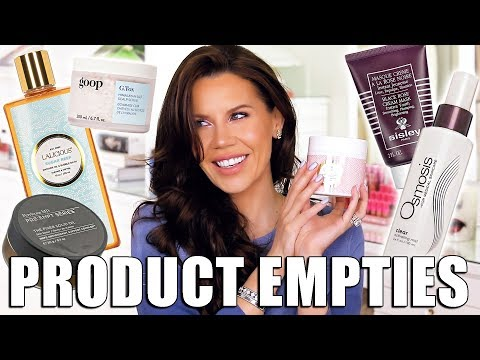 PRODUCT EMPTIES ... I'm not SALTY!