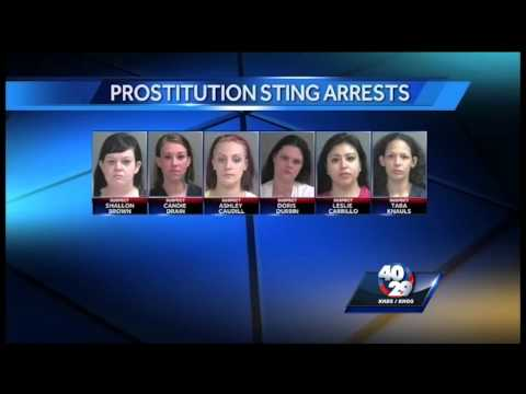 Six people arrested in Fayetteville prostitution sting