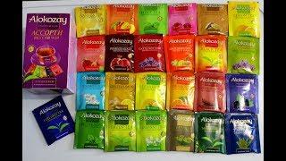 Обзор чая Алокозай 25 вкусов, Alokozay flavour assortment, самый вкусный, покупки АТБ, ЧАЙ