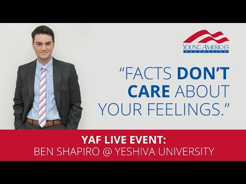 Ben Shapiro LIVE at Yeshiva University