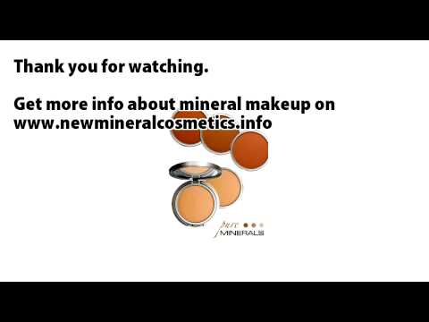 mineral makeup Pure minerals mineral compact powder
