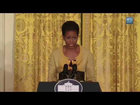 First Lady on Health Insurance Reform and Older Women