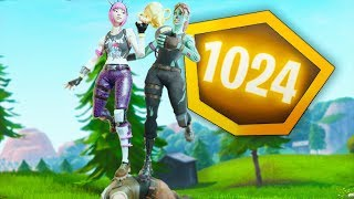 *WORLD RECORD* 1024 POINTS Gauntlet Duos Pop-Up (Fortnite)