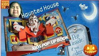 유령이야기! 유령의 집 이야기 팝업북 Haunted house pop up book. ghost house english pop-up book l ghost house