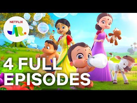 Download Mighty Little Bheem FULL EPISODES 1-4 💪 Season 1 Compilation 💪 Netflix Jr