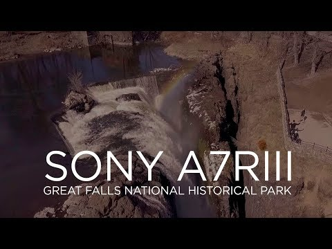 Sony A7RIII at The Great Falls National Historical Park in Paterson, NJ
