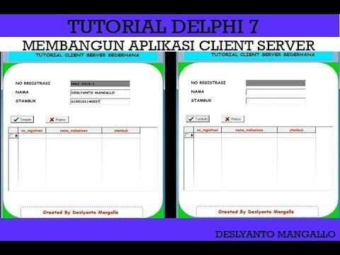 Tutorial Client Server Menggunakan Delphi 7 (Step By Step)