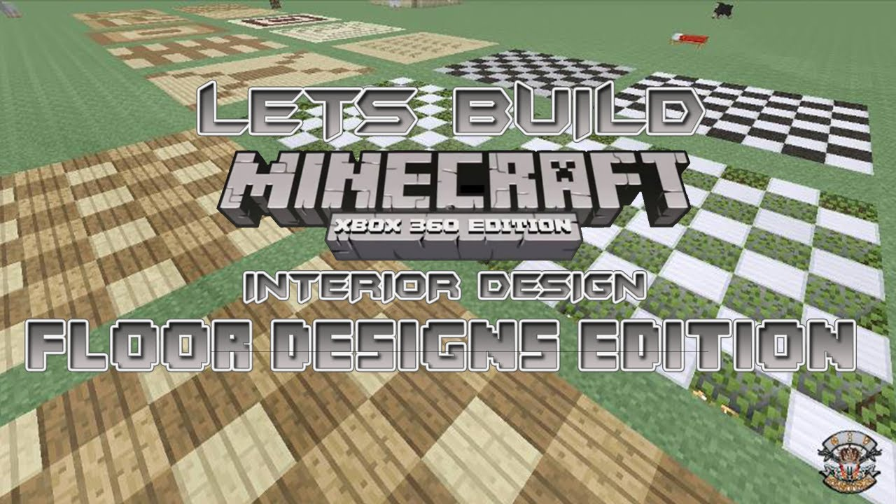 Lets build minecraft 360 edition interior design floor for Minecraft xbox 360 interior designs