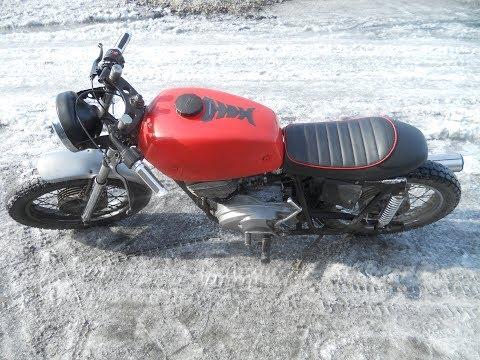 Как установить сиденье Cafe racer на мотоцикл иж без заморочек! Мой метод.