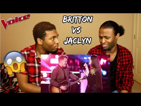 The Voice 2018 Battle - Britton Buchanan vs. Jaclyn Lovey: