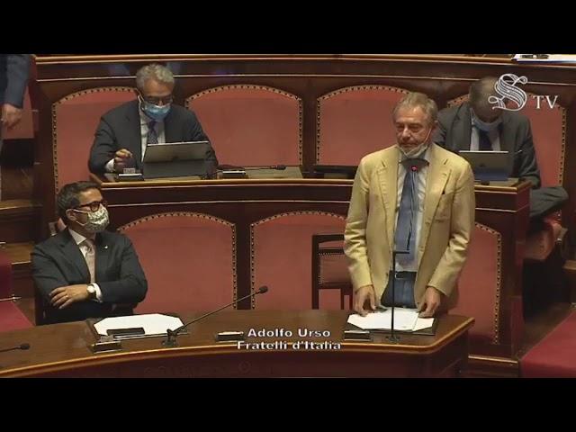 FdI Parlamento - La dichiarazione di voto del Sen. Urso