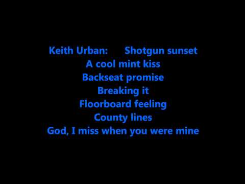 We Were Us By Keith Urban And Miranda Lambert