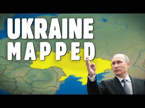 Understanding The Situation In Ukraine Using Maps