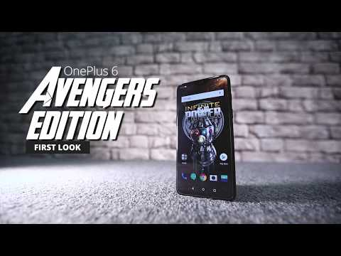 OnePlus 6 Avengers Limited Edition First Look