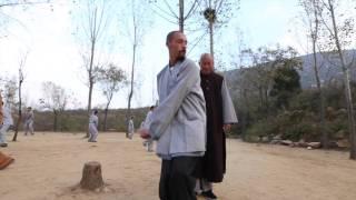 Master Wu Nanfang teaching Michael 1