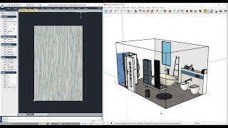 Export 2D CAD drawings and 3D SketchUp models from Tilelook