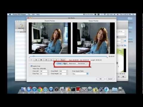 DVD to AVI, MP4, WMV, MOV, FLV, MKV, MP3: Convert DVD movies on Mac OS X