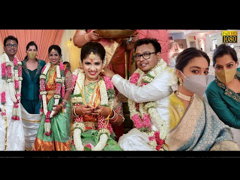 Keerthy Suresh, Varalaxmi நேரில் கலந்துக்கொண்ட DOP GK Vishnu-வின் Wedding | Bigil, Mersal | Cinema