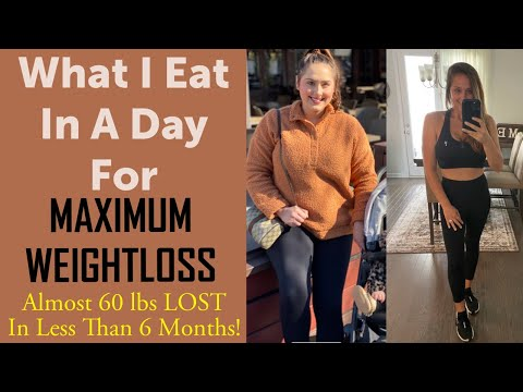 What I Eat In A Day For Maximum Weight Loss - Starch Solution / Almost 60 Lbs Lost In 6 Months!
