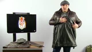 Обзор. Куртка кожаная лётная