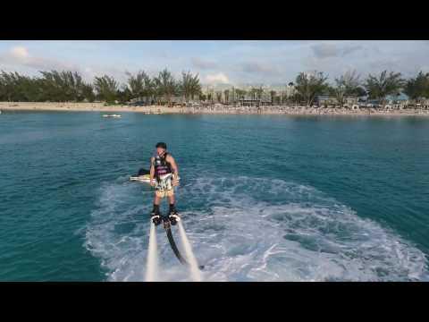 Grand Cayman Drone JetBoard