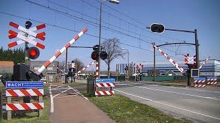 Spoorwegovergang Roosendaal // Dutch railroad crossing