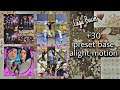 - +30 Preset Base Alight Motion  Lagu Bucin🤎