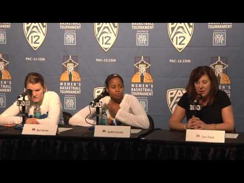 WBB Pac-12 Championship vs. Oregon State Press Conference